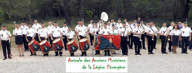 L'AMICALE DES ANCIENS MUSICIENS DE LA LEGION ETRANGERE à AURIOL (13 14370110
