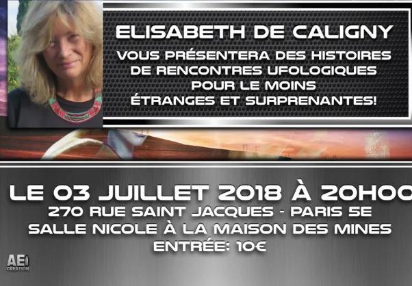 Le 3 juillet 2018 Ovnis Paris reçoit Elisabeth de Caligny Captur10