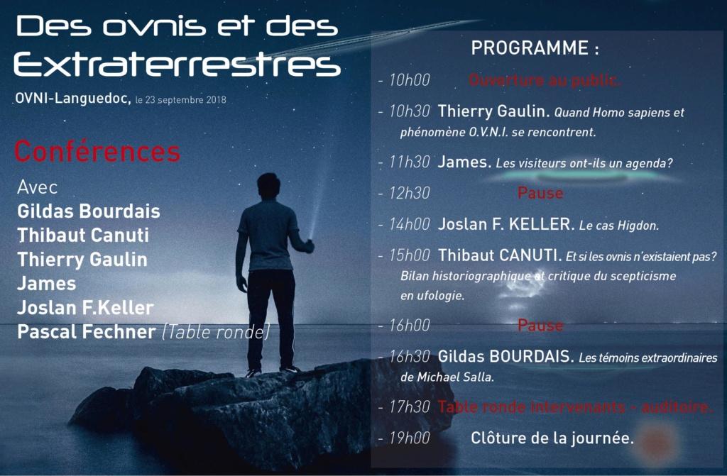 IX° journée de conférences d'OVNI-Languedoc Progra10