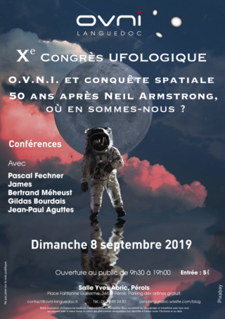 X° Congrès ufologique d'OVNI-Languedoc dimanche 8 septembre 2019 Septem10