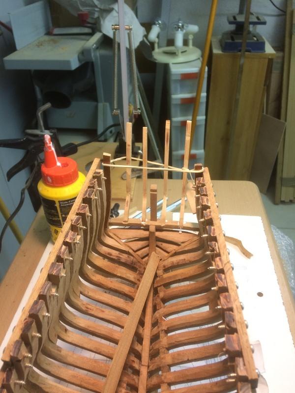 l'amarante corvette de 1747  sur plan de Mr Delacroix  - Page 6 3-img_21