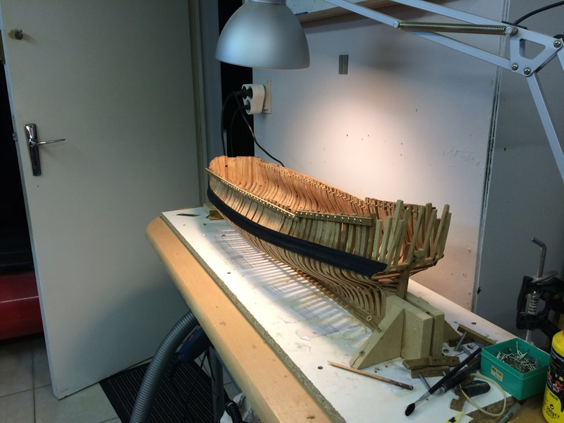 l'amarante corvette de 1747  sur plan de Mr Delacroix  - Page 6 Img_1016