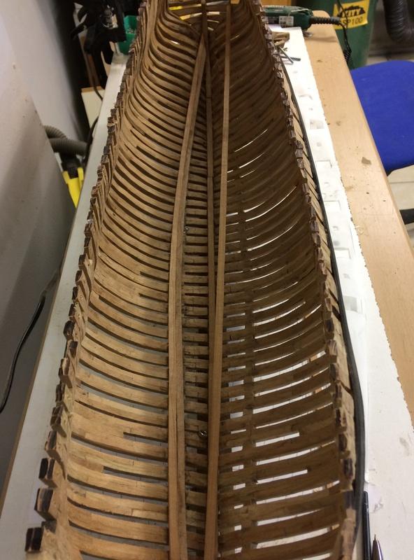 l'amarante corvette de 1747  sur plan de Mr Delacroix  - Page 6 Img_1018