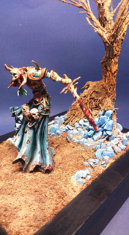 Figurine fantastique 54mm Lombre 15871510