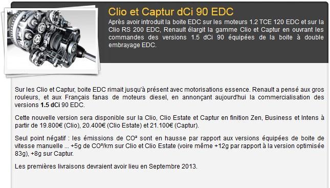 Clio Dci 90 EDC 2013-012