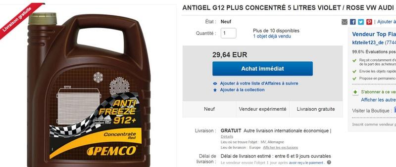 Placement d'antigel concentré moteur VM. (5 litres). 5_litr10