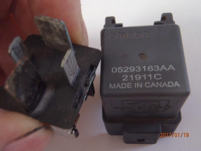 relais préchauffage S4  (trouvé ) P1190014