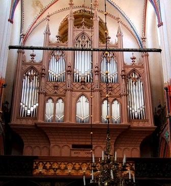 Mendelssohn, Schumann, Brahms et l'orgue romantique allemand Strals11