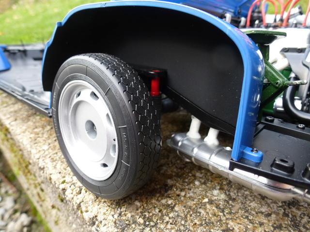 """Suite du montage chassis de ma """"Gordini"""" P1090315"""