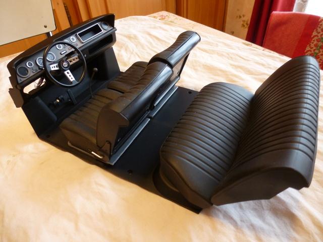 """Suite du montage chassis de ma """"Gordini"""" P1090815"""