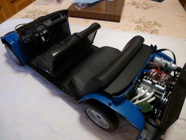 """Suite du montage chassis de ma """"Gordini"""" P1090817"""