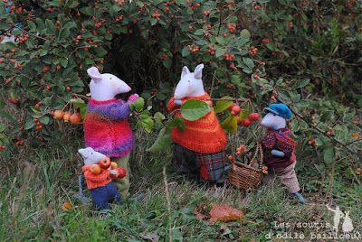 Les souris d'Odile Bailloeul. débrouillards ... 0366ba10