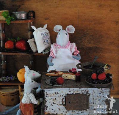 Les souris d'Odile Bailloeul. débrouillards ... Afff9010