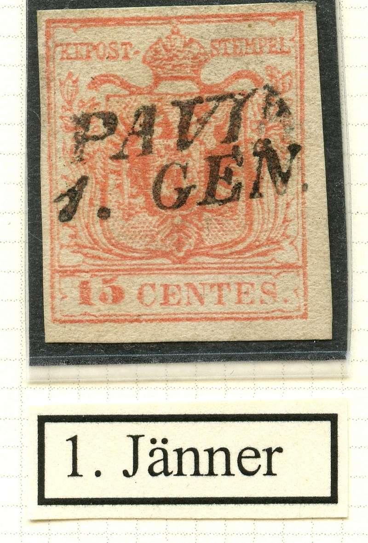 Briefmarken - Lombardei - Venetien 1850 - 1858 - Seite 4 1_jynn10