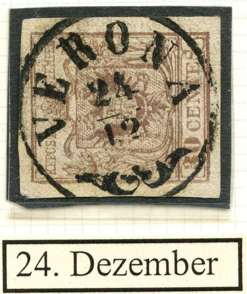 Briefmarken - Lombardei - Venetien 1850 - 1858 - Seite 4 24_dez10