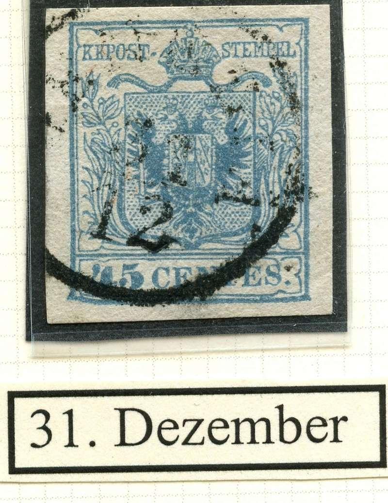 Briefmarken - Lombardei - Venetien 1850 - 1858 - Seite 4 31_dez11