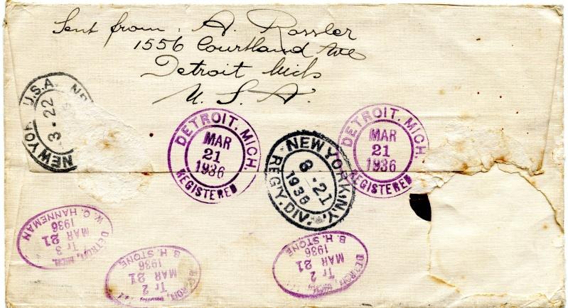 Lufpostbrief Amerika nach Österreich Img48811