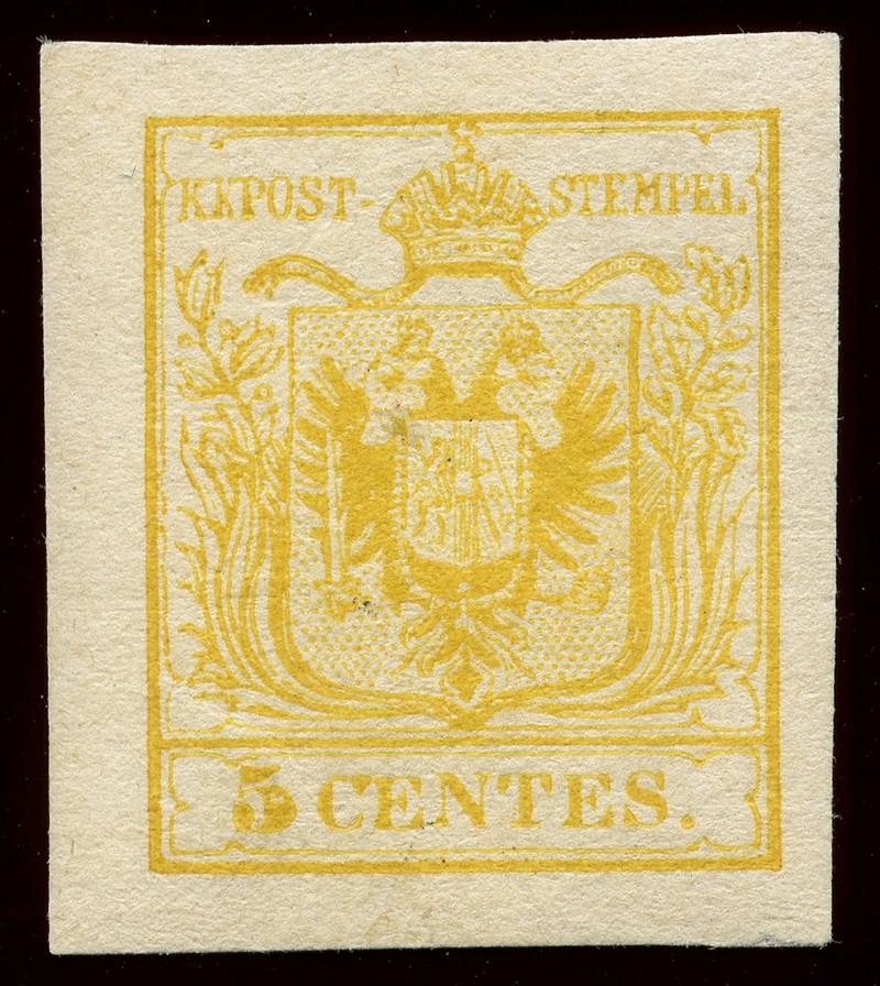 Briefmarken - Lombardei - Venetien 1850 - 1858 - Seite 5 Lv_1_n10