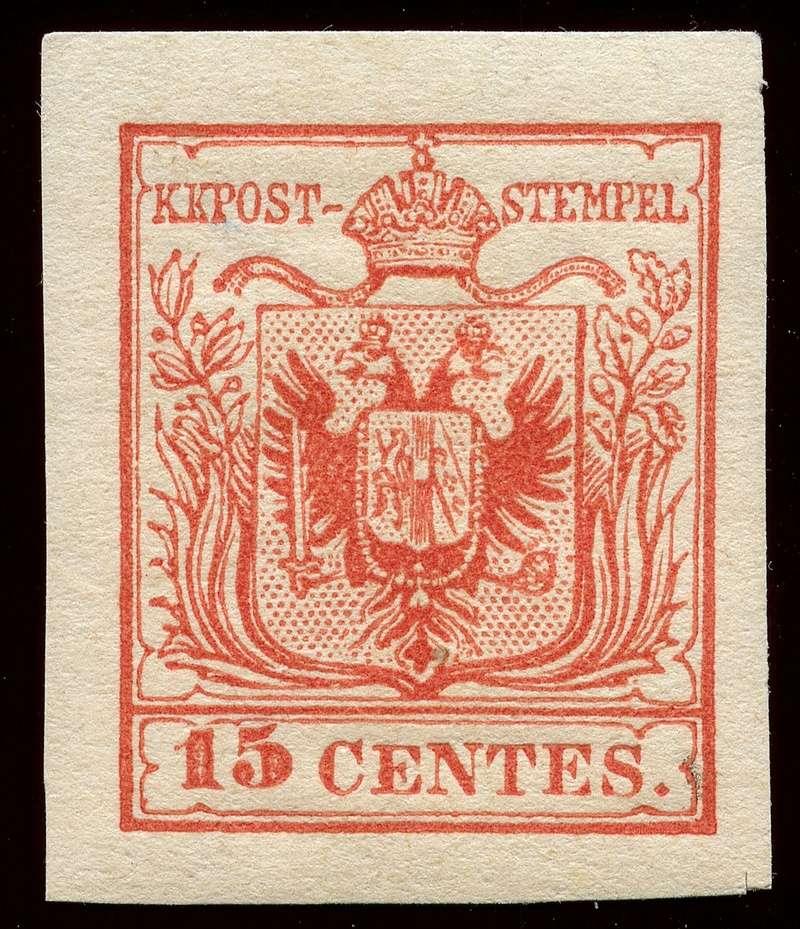 Briefmarken - Lombardei - Venetien 1850 - 1858 - Seite 5 Lv_3_n10