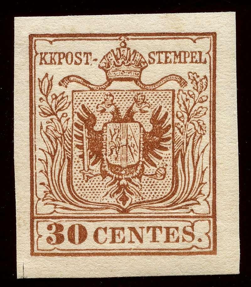 Briefmarken - Lombardei - Venetien 1850 - 1858 - Seite 5 Lv_4_n10