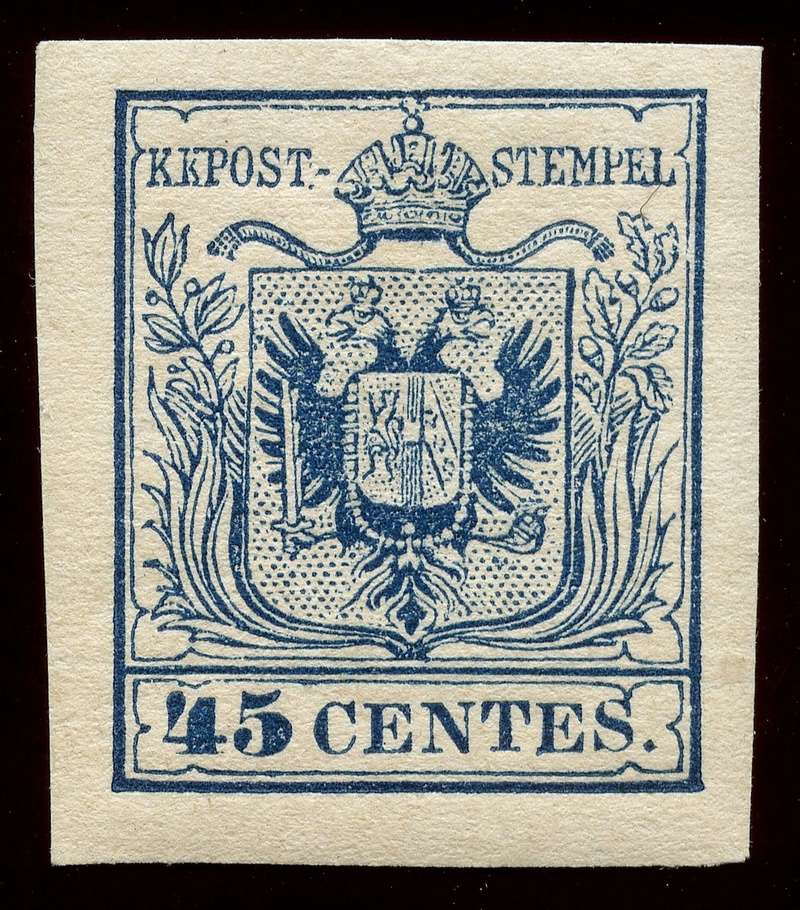 Briefmarken - Lombardei - Venetien 1850 - 1858 - Seite 5 Lv_5_n10