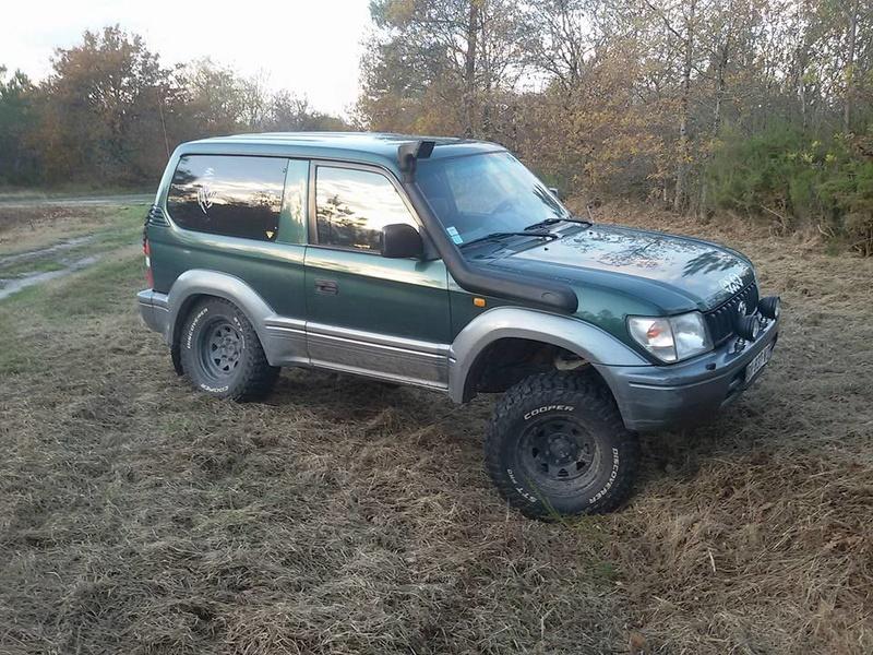 [A vendre] Toyota kzj 90. 15078620