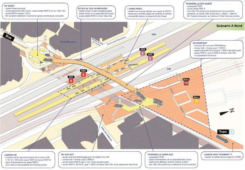 Restructuration dans un rayon de 400 m autour de la nouvelle gare du Val de Fontenay Val_de12