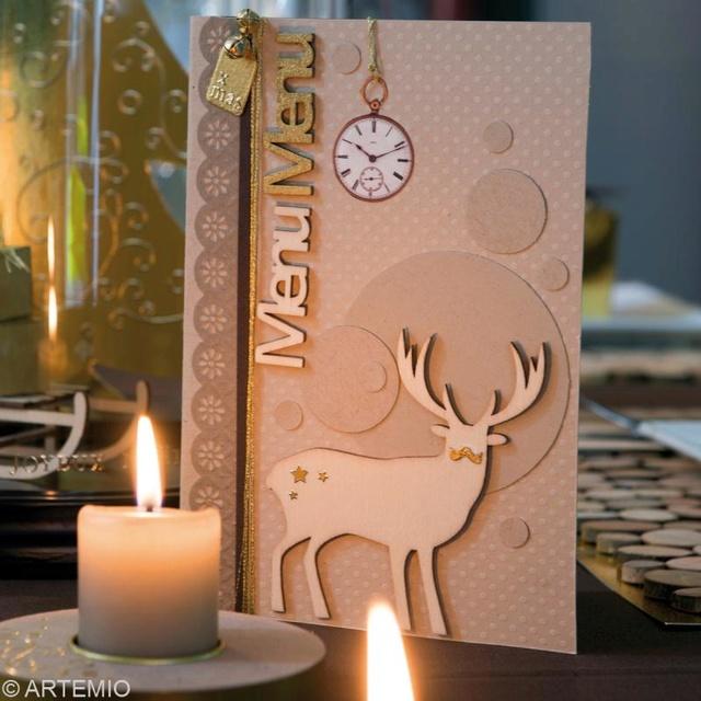 Calendrier de l'Avent 13 décembre - Décoration de table Deco_t14