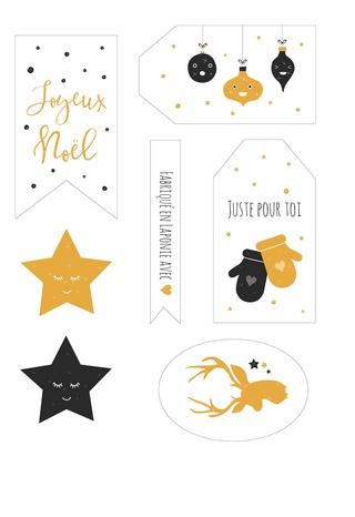 Calendrier de l'Avent 11 décembre - Etiquettes Ytique10