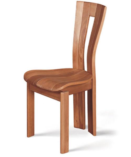 Chaises en hêtre aux pieds courbes 50063510