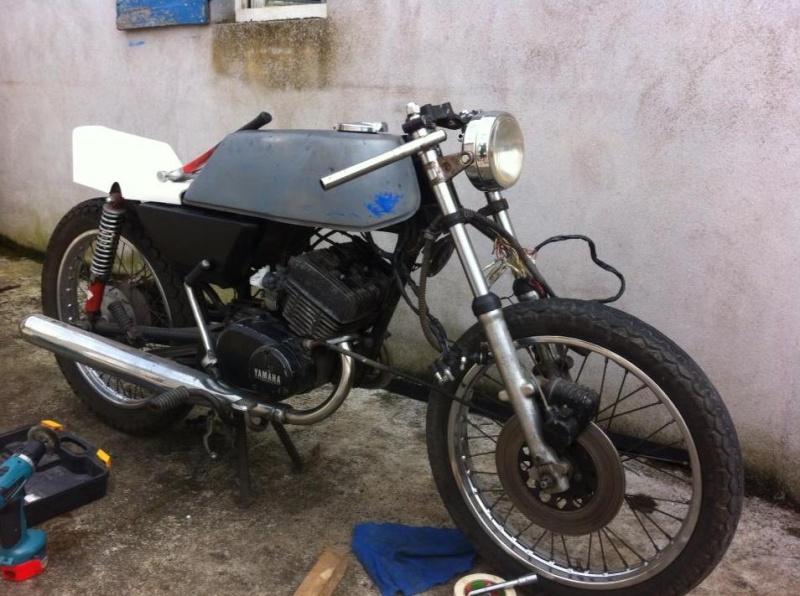 Yamaha 125 RDX  110