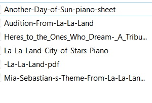[Piano] La la Land, musiques du film Lala_l10