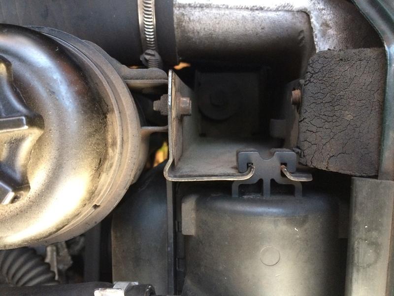 montage radiateur refroidissement moteur 2.5 diesel  Img_0012