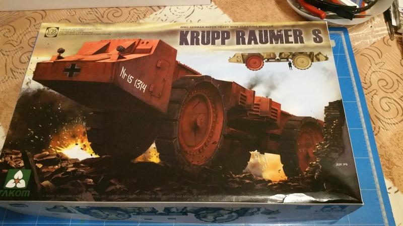Krupp Raumer S - Takom 1/35 20170214