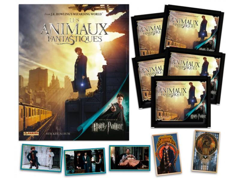 Album panini les animaux fantastiques/ Harry Potter 00318310