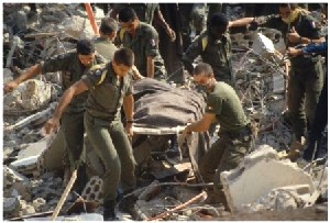 DARAKKAR -29e commémoration du sinistre attentat contre le PC du 1er RCPeublee DRAKKAR  Drakka12