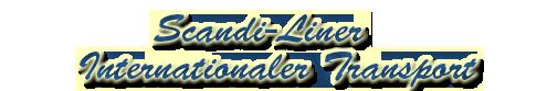 Scandi-Liner I Internationaler  Transport Scandi11