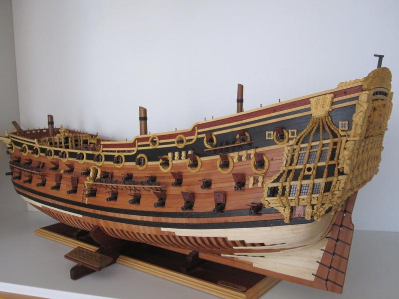 HMS PRINCE 1670 scala 1/60 Img_1113
