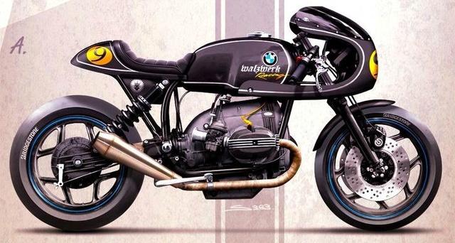 C'est ici qu'on met les bien molles....BMW Café Racer - Page 2 Fd671310