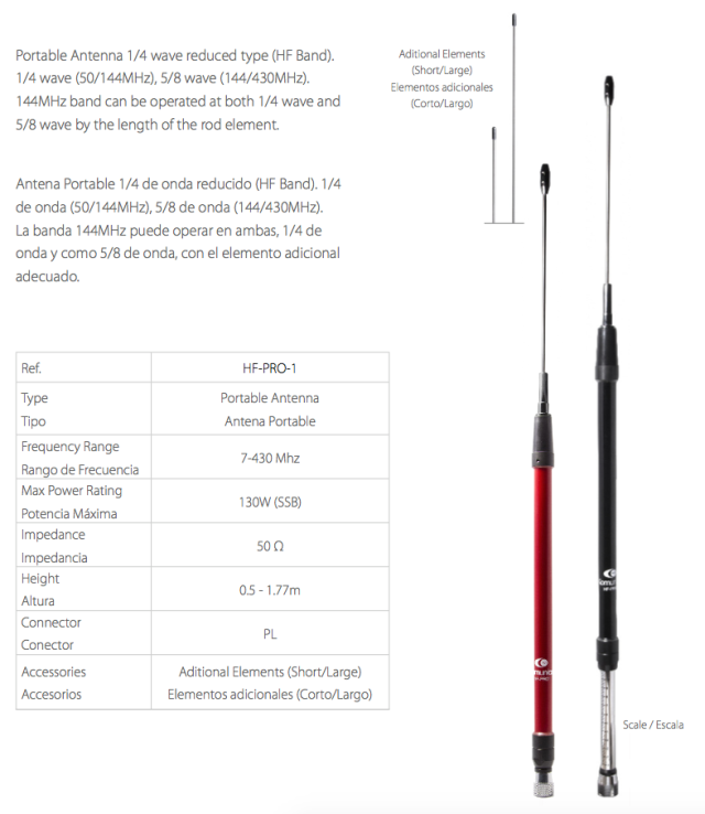 HF-PRO-1 ANTENA PORTABLE BANDA ANCHA DE 7-430MHZ  Captur10