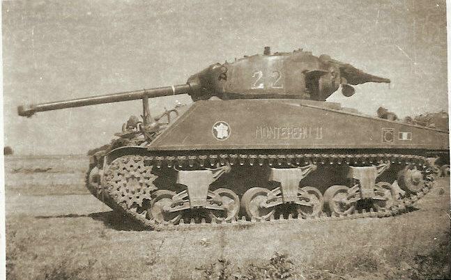"""Recherche sur le Sherman """"FRANCHEVILLE"""" Numyri11"""