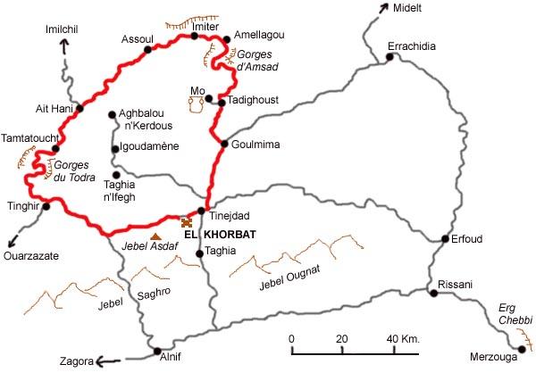 [Carburant, Routes, Police] Rejoindre les gorges du Todra par les gorges du Dades Gorges10