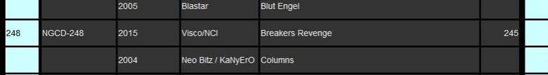 Breakers Revenge NeoCD ?!! 110