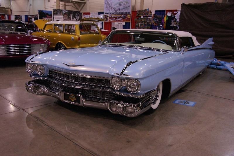 Cadillac 1959 - 1960 custom & mild custom 01281011