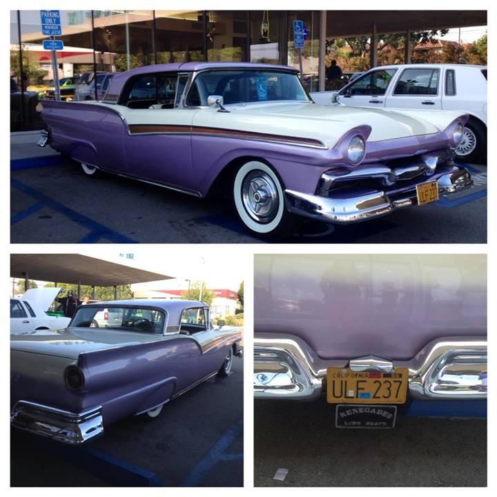 Ford 1957 & 1958 custom & mild custom  10000610