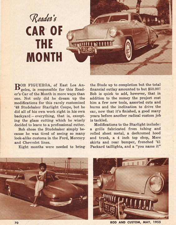 Studebaker custom & mild custom 10016510
