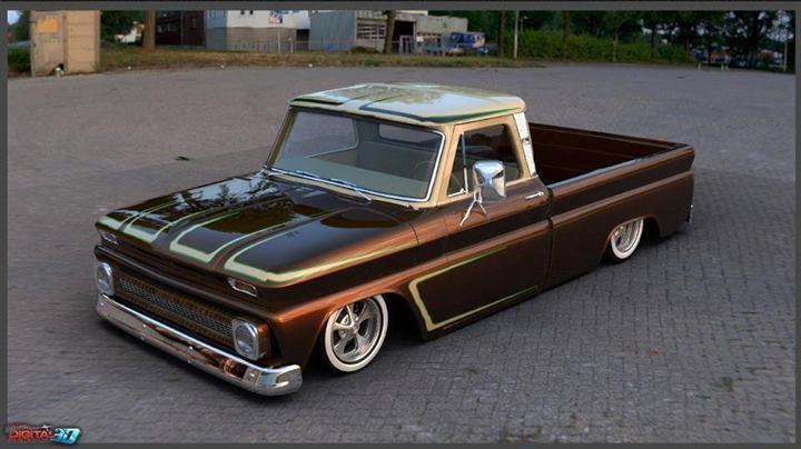 Ford Pick up 1958 - 1966 custom & mild custom 10135010