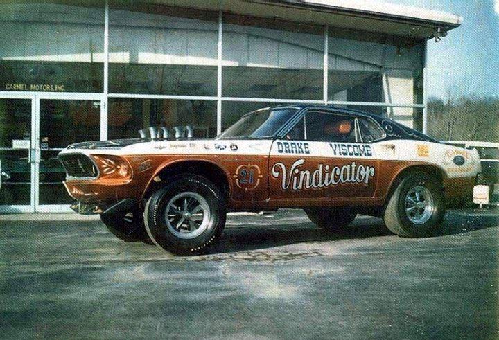 1960's Ford & Mercury gasser 10440010