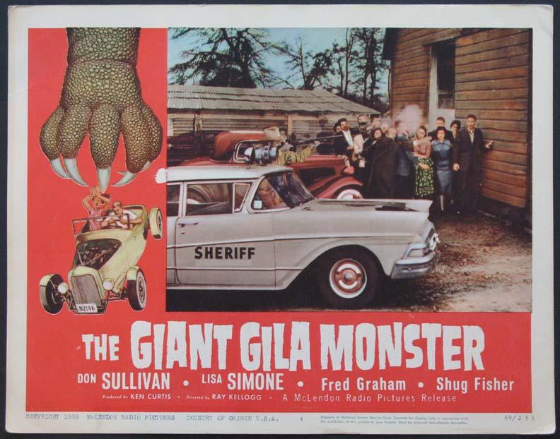 The Giant Gila Monster - Ray Kellogg - 1959 1410610