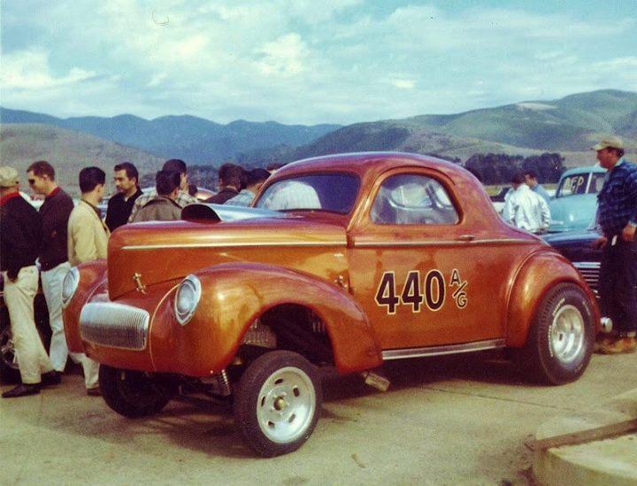 Willys 1940- 41 gasser 16424410